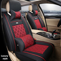 (Delantero y Trasero) Cuero del asiento de coche especial cubre Para Toyota Corolla Camry Rav4 Prius Auris Avensis Yalis accesorios de automóvil TODOTERRENO