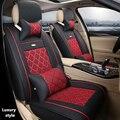 (Frente + Traseira) Couro especial tampas de assento do carro Para Toyota Corolla Camry Rav4 Prius Auris Avensis Yalis acessórios do carro SUV