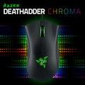 Razer Deathadder Gaming Mouse, 3500 DPI (Luz Azul), 2013 (Luz Verde), Chroma (Opção Vermelho), Marca Original Novo item, em Stoc