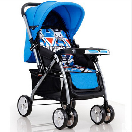 High Landscape Baby twins Stroller Light Folding Shock Absorbers BB trolley  Four Wheeled Newborn Hand Push Bb Carts сумка labbra labbra la886bwter87