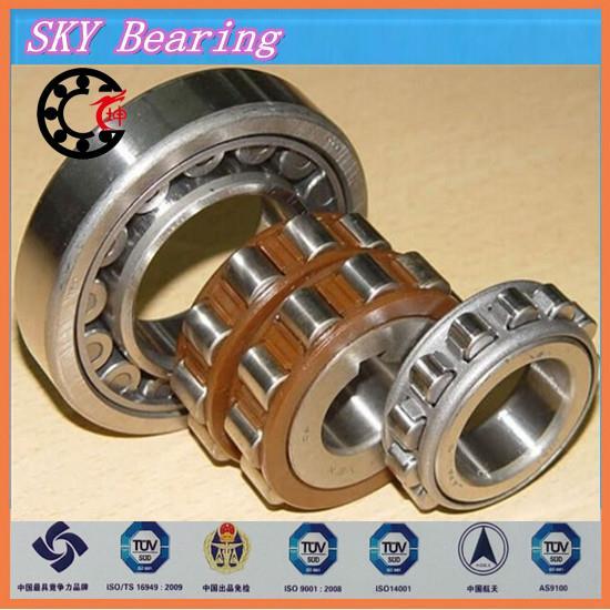 double row eccentric bearing 15UZ61035 T2X 15UZ61035T2X brass cage double row eccentric bearing rn205 eccentric collar