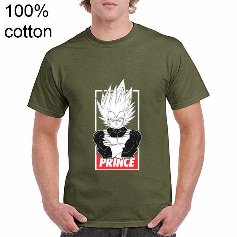 DBZ Мужская футболка Dragon Ball Z Ultra Instinct Goku Super Saiyan God Vegeta черно-белая летняя футболка с рисунком 3XL
