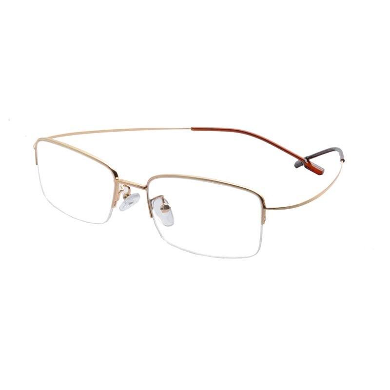 Grife TR90 Metade óculos de Armação 2016 Moda Homem Metade Armação De Metal  Armações de Óculos Óculos Óculos Oculos de grau EV1419 7ece26a62e