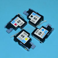 For Hp 80 Printhead For Hp Designjet 1050 1055 1000 1000plus Plotter Print Head Printer Spare