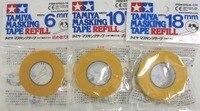 Tamiya Masking Tape 6mm 10mm 18mm Refills 3 Rolls 87033 87034 87035 Refills Free Shipping
