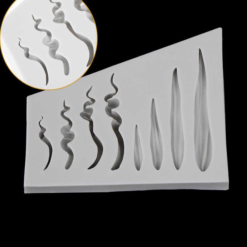 DIY 3D włosy dla lalki formy twarz dziecka kremówka Mold ciasto przybory do dekoracji forma na czekoladki silikonowe formy do ciasta na zamówienie przyrząd do pieczenia