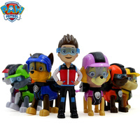 New Arrival 7Pcs/set Paw Patrol Dog Anime Figure Puppy Toy Action Figure Model Patrulla Canina Toys Kids Children Toys Gifts