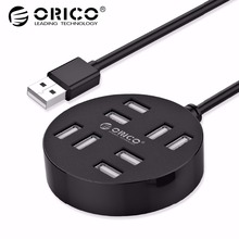 ORICO High Speed 8 Ports USB2.0 USB HUB Portable HUB for Laptop Desktop  Macbook Air PC Tablet with 30 100 150 CM Data Cable