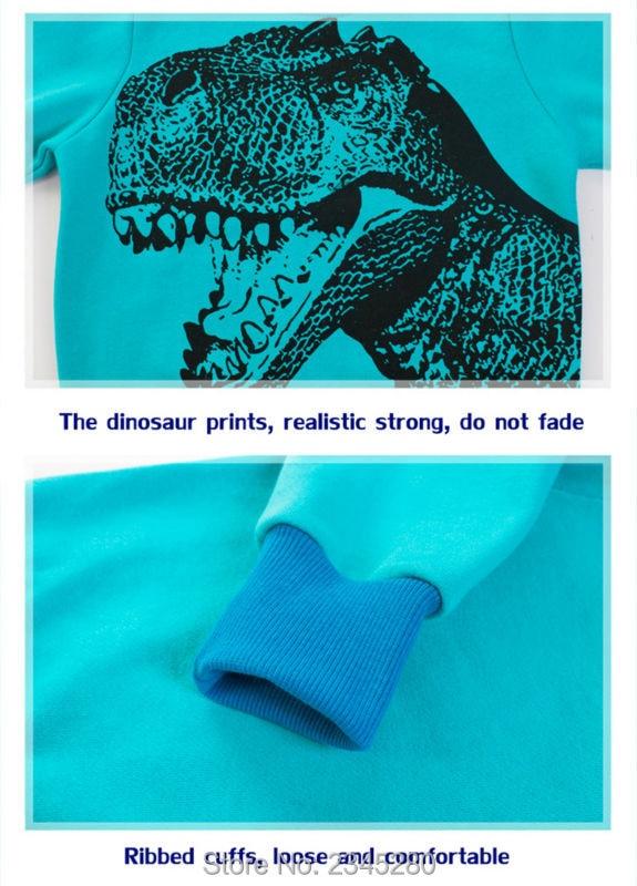 10For Boys Girls T Shirt Sweater Clothes Bobo Choses T-Shirts Child Long Sleeve Dinosaur Kids Clothing Christmas New Tops Next 03