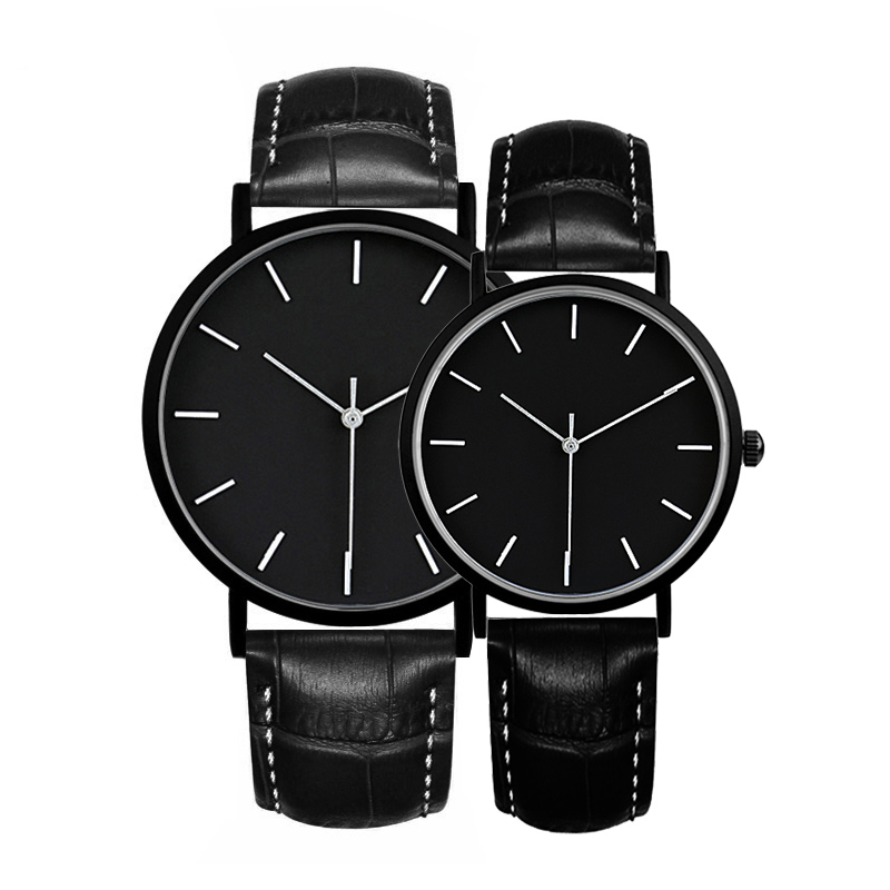 2019 Gift Enmex Brief Lover Wristwatch Deployment Buckle Simple Designs  Fashion Quartz Couple Watches Price For A Couple