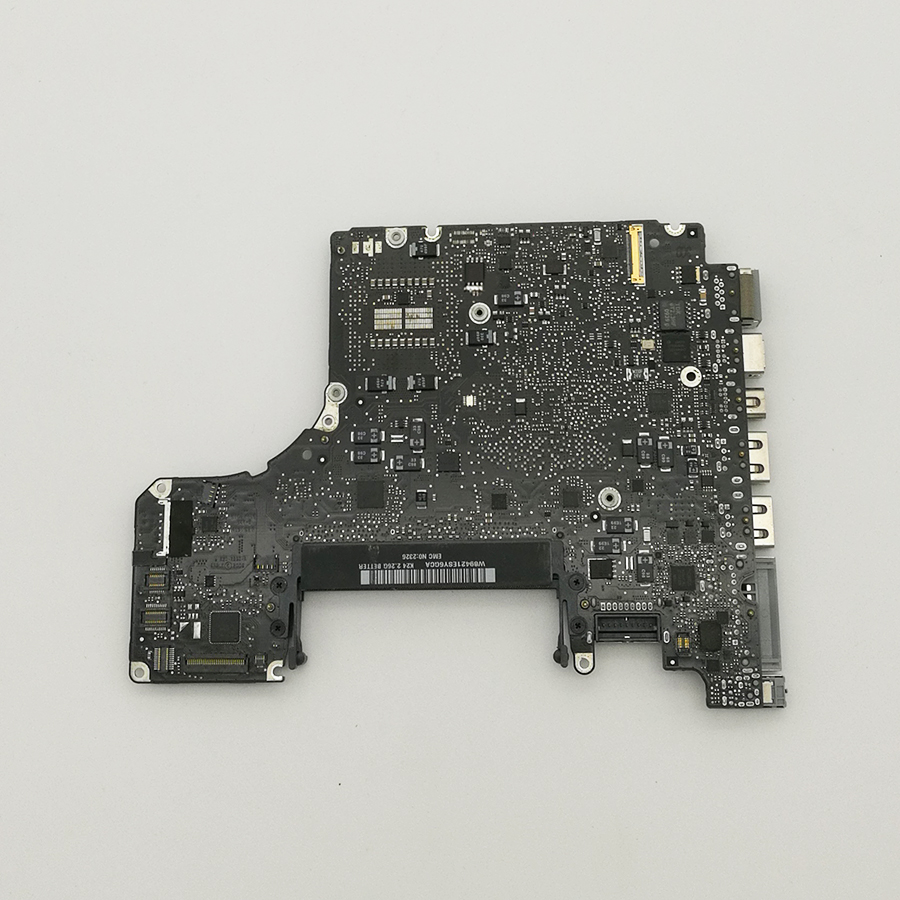 Tested 2.53 GHz Core 2 Duo Logic Board ( Motherboard ) For Macbook Pro 13 A1278 820-2530-A 661-5231 Mid 2009 MB991 original logic board 820 2101 a for macbook pro 15 4 a1226 motherboard ma895 mid 2007 2 2ghz core 2 duo 2175mmb0060