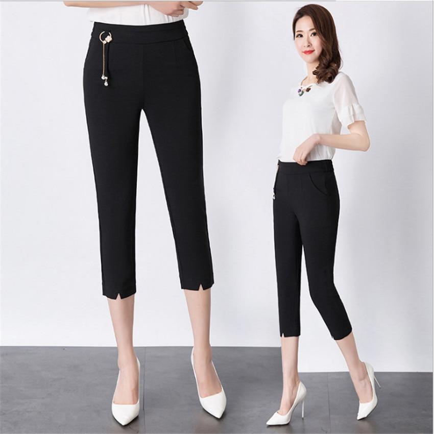 MLCRIYG Casual pants female new han edition turnip pants joker show thin leg pants