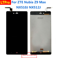 5 5 TOP Quality Full LCD Display Touch Screen Digitizer Assembly For ZTE Nubia Z9 Max