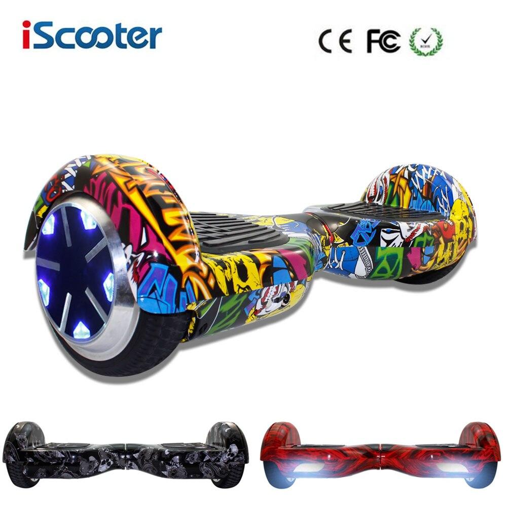 Hoverboard Colorido Elétrico Hover Board 2 Rodas Auto Equilíbrio Scooter  Elétrico Com LED Smart 7 polegadas Skate Livre Shiping em Scooters  Equilíbrio de ... 210863adbdd