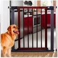 75 ~ 82 см Высокое качество тихий твердые деревянные детские ворота лестницы забор собака забор собака двери и окна