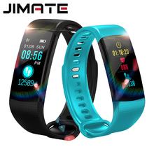 Smart watch bransoletka fitness Monitor pracy serca IP67 wodoodporny kolorowy ekran Sport zegarek z GPS dla IOS Android PK Mi zespół 2 3 tanie tanio Plastikowe Dialog14585 Elektroniczny Passometer Uśpienia tracker Tętna Tracker Budzik Pilot zdalnego sterowania Tracker fitness