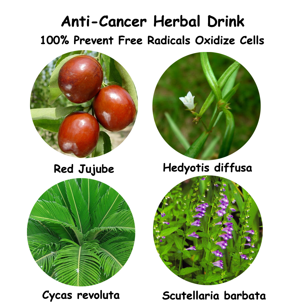 Chinese cancer cure herbs - Anti Cancer Herb Medicine Formula Prevent Cancer Herbal Drink Prevent Tumors China