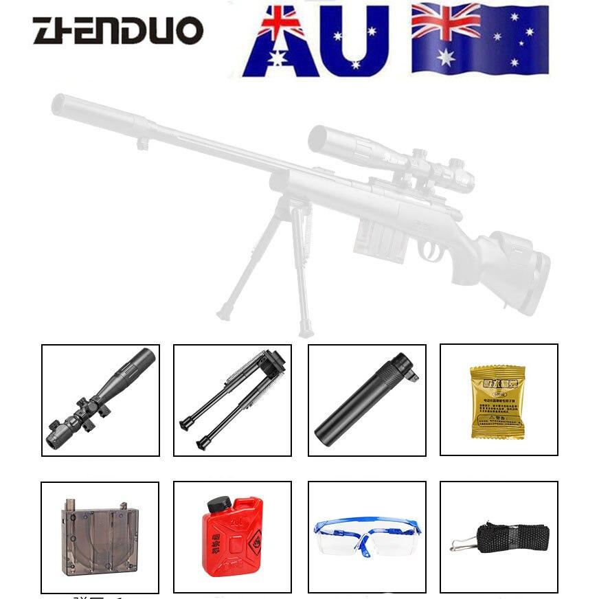 ZhenDuo Toys Mag-Fed GJM24 Gel Ball Blaster Toy Gun For Outdoor Children Child Gifts