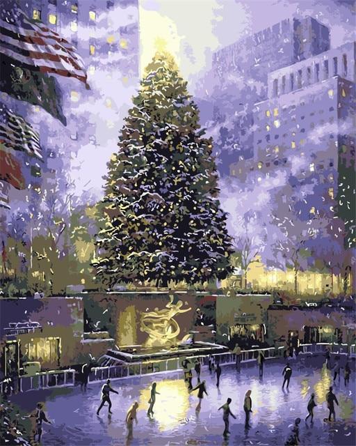 Aliexpress.com: Acheter Central Park de new york Peinture À L ...