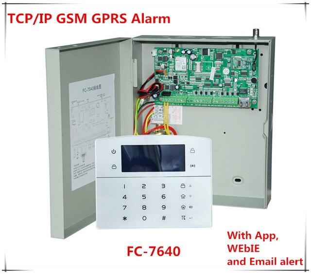 Best wired alarm system 2018 wire center 2018 best fc 7640 industrial rj45 ethernet alarm system 8 wired rh aliexpress com cordless alarm solutioingenieria Gallery