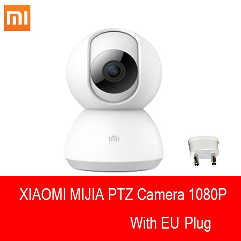 Nouvelle version d'origine Xiaomi 1080 P HD 360 degrés IP nuit Mijia caméra intelligente prend en charge IOS/Android et ordinateur avec prise ue