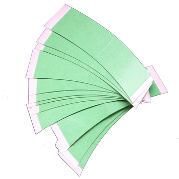 36pc/lot  Easy Green  high quality strong double tape for toupees  wig adhesive tape walker tape 36pc lot lace front support high quality strong double tape for toupees wig adhesive tape walker tape