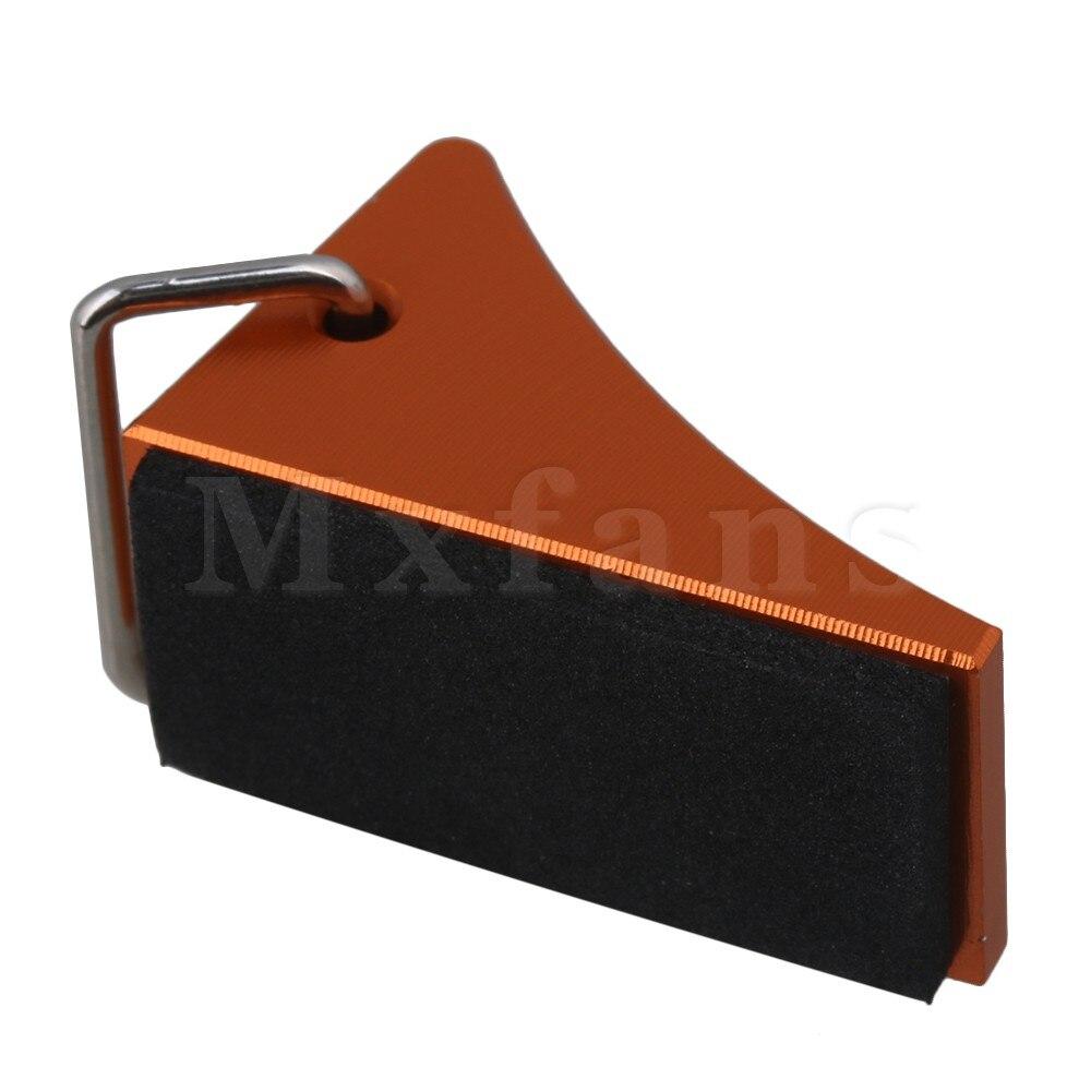 Mxfans 33x17x21 мм оранжевый Алюминий сплав fz0010 RC колесо битком остановить для багги Грузовик ралли автомобиль largefoot Car Pack 2