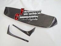 FOR GTI Style CARBON FIBER 2014 2017 VW Golf 7 VII MK7 REAR ROOF SPOILER
