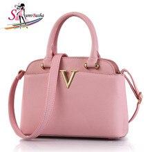 Handbags 2017 new European & American fashion bag lady small fresh medium-sized shoulder bag Messenger Women PU leather handbags