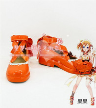 New Arrival Love Live Valentine's day Honoka Kousaka Cosplay Boots Custom Made Shoes
