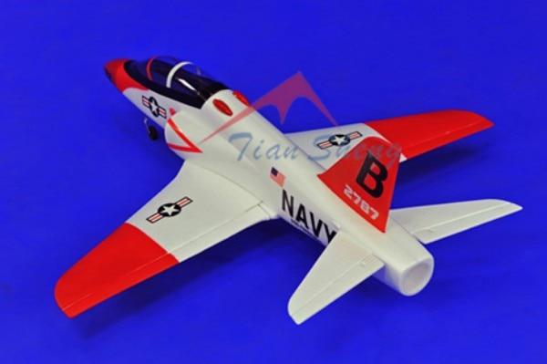 TSRC 70MM EDF Arrow RC KIT Plane Model W/O Brushless Motor Servo 30A ESC Battery