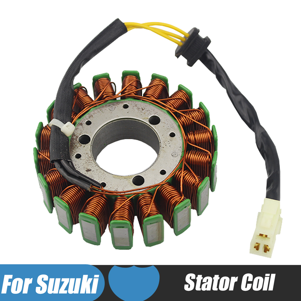 Motorcycle Magneto Stator Coil Igniton Coil For Suzuki GSXR750 2000-2005 GSXR1000 2001-2004 GSXR600 2001 2002 2003 2004 2005 motoo f 14 s 248 motorcycle brake clutch levers for suzuki gsxr600 1997 2003 gsxr750 1996 2003 gsxr1000 2001 2004 tl1000s