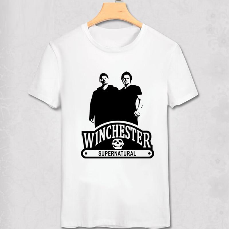 ộ_ộ ༽Supernatural American fierce Ghost T Camisas hombres impreso ...