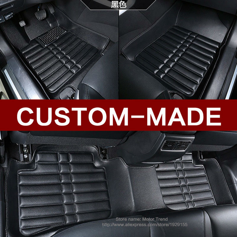 Custom fit car floor mats for Mitsubishi Lancer  ASX sport V73 V93 3D car styling all weather carpet floor liner RY206 custom fit car floor mats for peugeot 206 2008 301 307 3008 408 4008 508 car styling carpet floor liner ry255