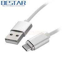 1 m stopy 100 cm USB 3.1 typ c USB-C USB3.1 Typu C do Mężczyzna Magnetyczny Ładowania Kabel USB dla Tablet Odwracalny Projekt