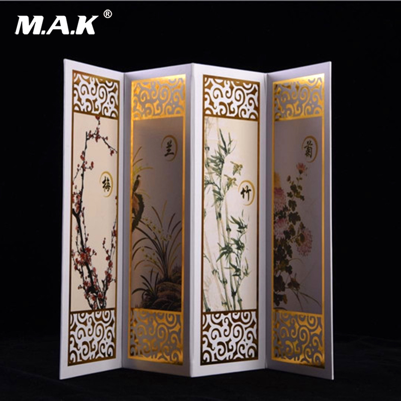 1/6 Scale Action Figure Scenes Accessory Chinese Modern Screen Model For 12