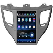 цена на 2019 New come ! Tesla Type Android Fit HYUNDAI TUCSON IX35/TUCSON 2015 2016 2017 2018 2019- Car DVD Player Navigation GPS Radio