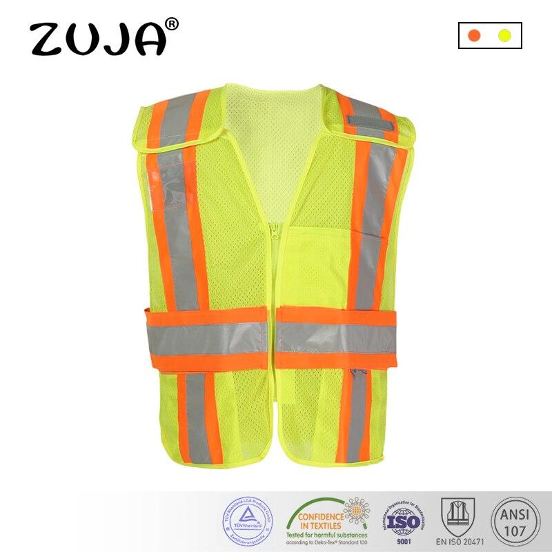 High visibility Breathable cooling mesh fabric Safety vest reflective mesh vest plus size S-5XL недорго, оригинальная цена