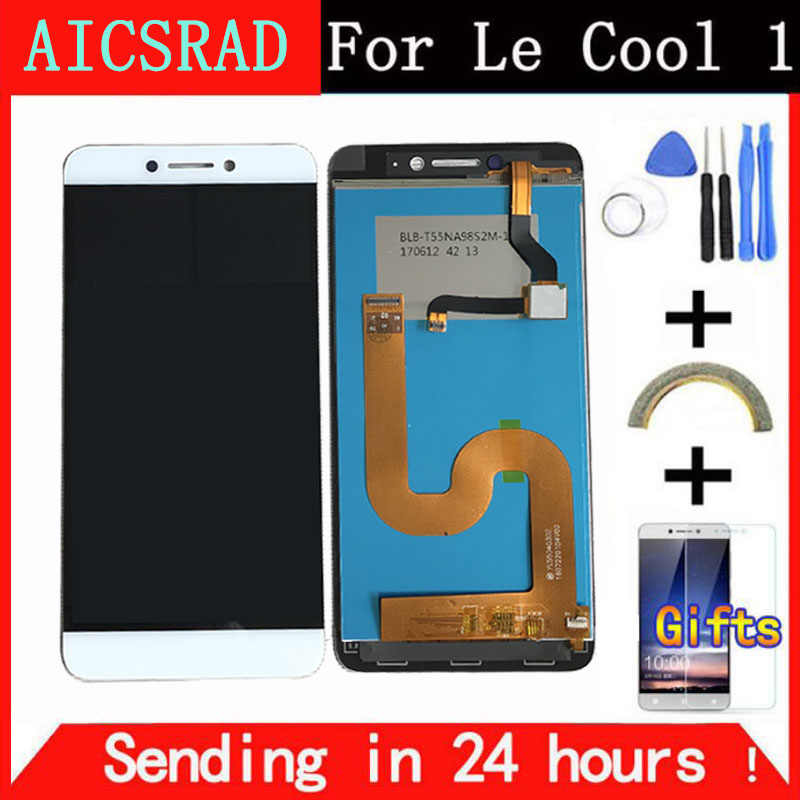 Q & Y QYJOY Display LCD Per Cool1 Dual C106 Touch Screen Digitizer Assembly di Ricambio Per Letv Le LeEco Coolpad raffreddare 1