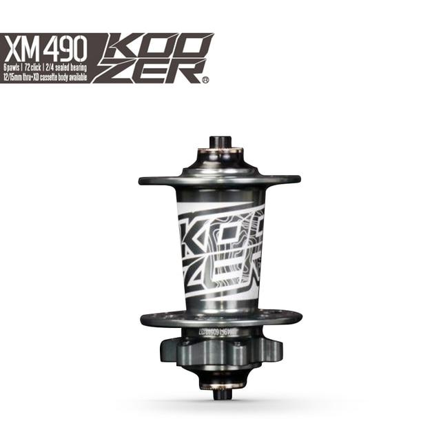 Koozer XM490 ПЕРЕДНЯЯ СТУПИЦА MTB дисковый тормоз передние ступицы QR 9x100 мм THRU 15x100 мм 32 отверстия 2 Герметичный Подшипник Горный велосипед ступица