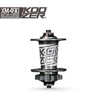 Koozer XM490 Front Hub MTB Disc Brake Front Hubs QR 9x100mm THRU 15x100mm 32 Holes 2 Sealed Bearing Mountain Bike Hub