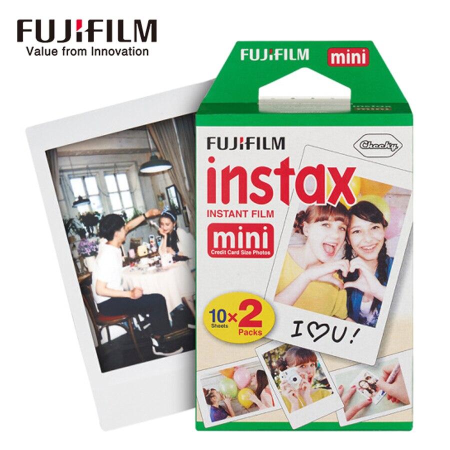 Fuji film fuji instax mini 8 9 film 50 feuilles film de bord blanc pour fuji film caméra instantanée mini 8 9 7 s 25 50 s 90 papier Photo - 4
