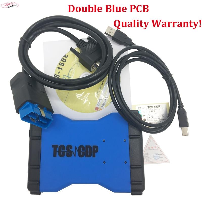 Bonne qualité tcs cdp pro avec blurtooth ajouter 8 pcs de voiture câbles obd2 OBDII Voitures De Diagnostic Interface Outil ensemble Complet 8 PC Voiture câbles