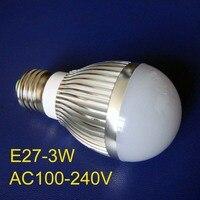 High Quality E27 3w Led Lamp Free Shipping 5pcs Lot