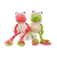1pcs 35cm Nici The Frog Prince Cute Frog Plush Toy Children Lovers Birthday Christmas Present