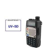 BaoFeng UV-5RD Walkie Talkie Two Way Radio FM Transceiver Interphone Dual-band DTMF Encoded VOX Alarm LED Flashlight Without Box