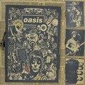 Урожай Плакат ретро Британской рок-группы oasis Oasis крафт-бумаги плакат бар общежитие украшения ретро плакат 30 х 21 см