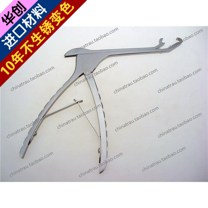 Medical orthopedics instrument plate stainless steel clip clip applicator plate bending device gun-shap medical orthopedics instrument stainless steel reduction forceps pointed