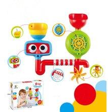 Весело!!! портативный Ванна Игрушки Воды Спринклерная Система Дети Дети Игрушка в Подарок Забавные Игрушки Для Купания Водонепроницаемый в Ванна Детские игрушки