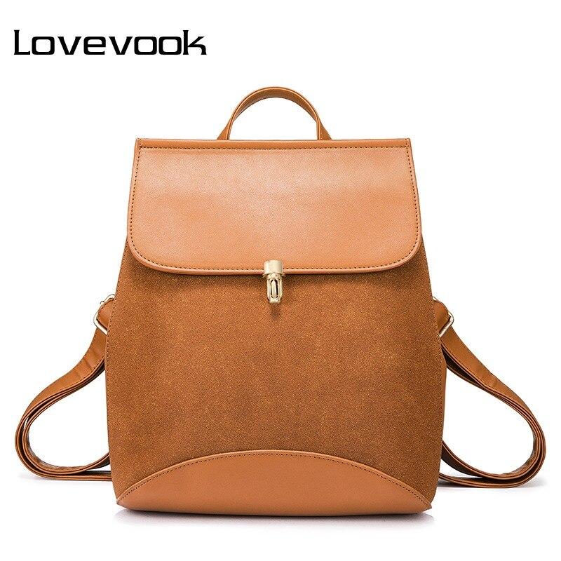 a073b3fb9b L'AMOUREUX marque de mode sac à dos pour femme artificielle en cuir ...